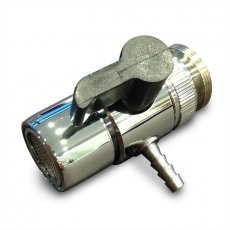 Universaladapter für Wasserzufuhr für 1/4Zoll Osmoseschlauch