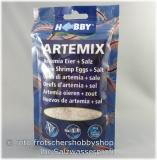 Artemix Artemiaeier fertig gemischt mit Salz 195gr Dose