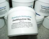 Zeolith Pulver - fein gemahlen nur 50µm - 500ml Dose