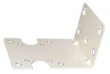 Wandhalterung (Metall) für Aqualight Filtergehäuse 10 und 20