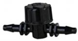Aqua Light Absperrhahn 4/6mm für Luft und Wasser