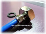 Wasseranschluss 3/4 Zoll - METALL f. dicken Osmoseschlauch