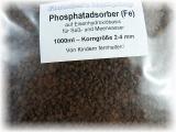 Unser Phosphatadsorber (Fe) - Korngröße 2-4mm
