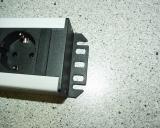 Steckdosenleiste 9-fach für Schaltuhren, Aquarium Unterschrank