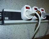 Steckdosenleiste 6-fach für Schaltuhren, Aquarium Unterschrank